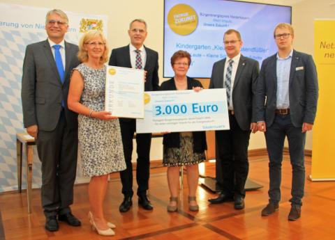 Bürgerenergiepreis Niederbayern: Kleiner Tausendfüssler