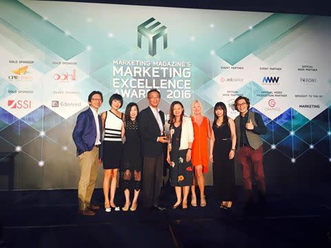Winners @ Marketing Excellence Awards 2016