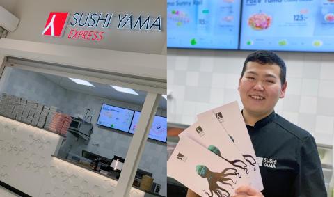 Nu finns Sushi Yama även i ICA Maxi Erikslund i Västerås