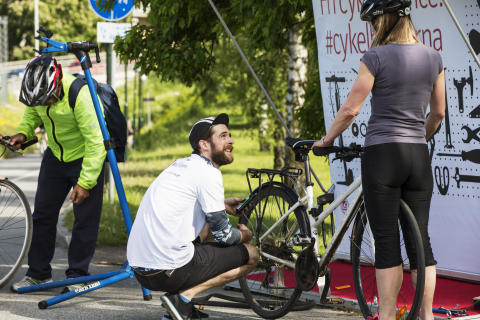 Riksbyggens Cykelpopup