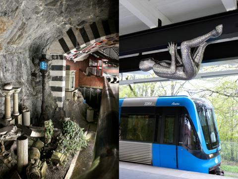 Bokrelease: Unik guide till konsten i Stockholms kollektivtrafik