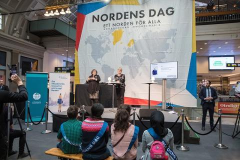 Nordens dag 2018 firades av många i Stockholm!