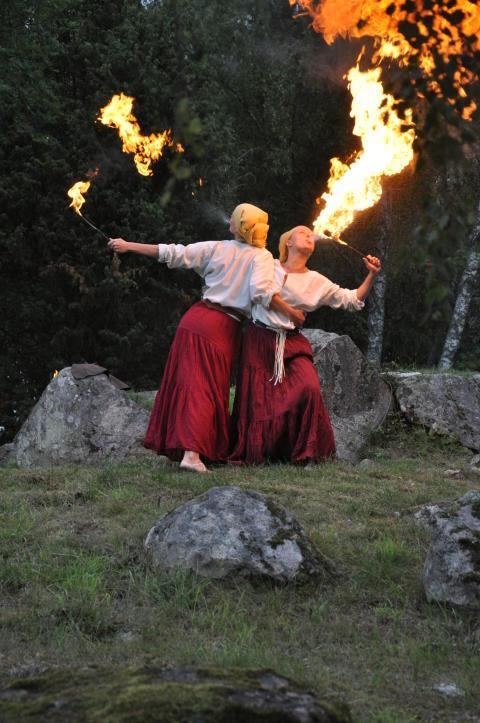 Eldshow Brunnbyvik