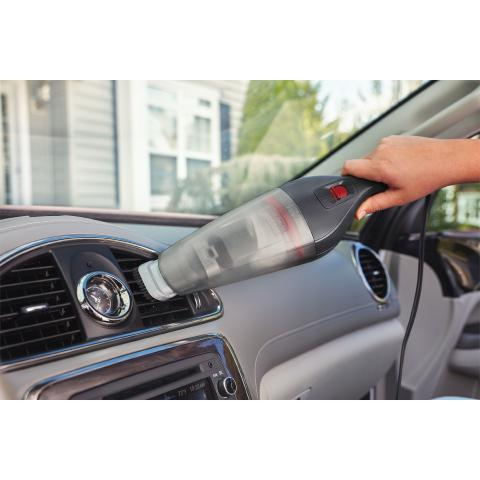 Spring Clean the Car with BLACK+DECKER