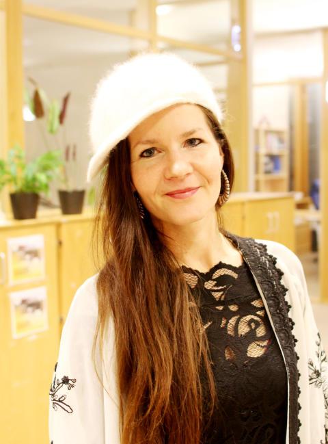 Anki Yafele, student på Kulturvetarprogrammet