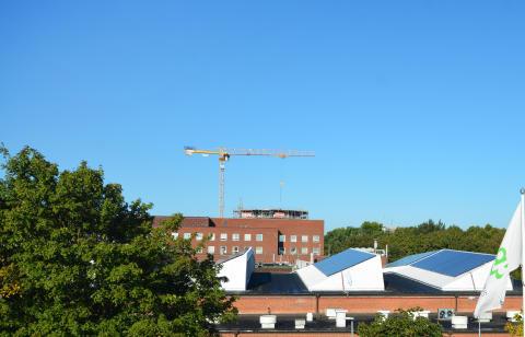 Solcellsanläggning, Lunds universitet
