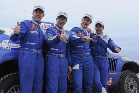 Volkswagen i Dakar-rallyt 2009, bild 2