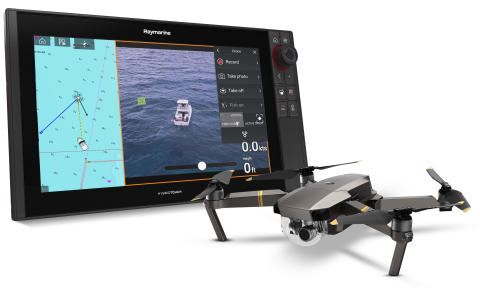 Raymarine - Marine Industry First: Raymarine Delivers Axiom UAV App