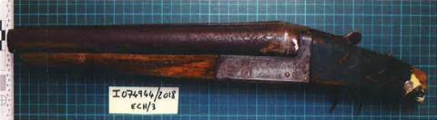 Firearm recovered following arrest