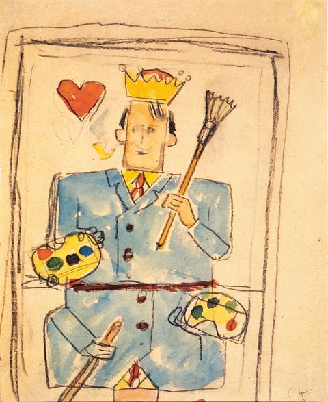 Carl Kylberg, Carl som hjärter målarkung, u å