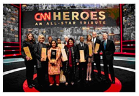 Prisutdeling av CNN Heroes i 2012