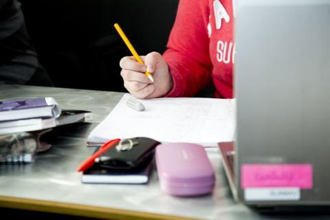 Realgymnasiet erbjuder läxhjälp för blivande elever
