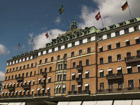 Grand Hôtel façade