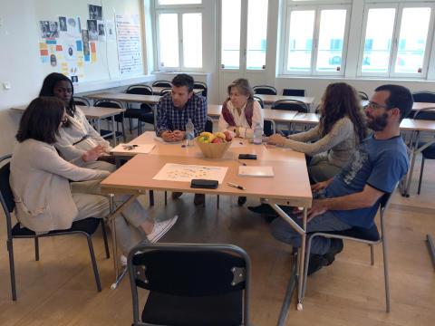 Besök av den spanska delegationen på Hermods i Stockholm