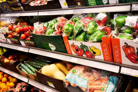 Butik - Frukt och grönt