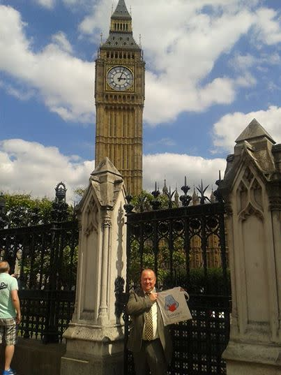 Irene and Ray's fairy tale Parliament adventure