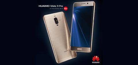 Huawei lanserar Mate 9 Pro - en påkostad smartphone med superkamera