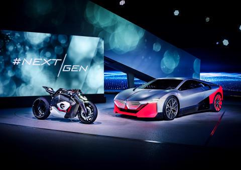 Nyheter under NextGen: BMW presenterar framtidens sportbil – till toner av Hans Zimmer