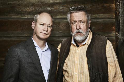Robert Gustafsson och Leif GW Persson.