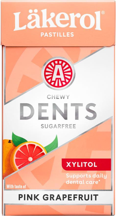 Lakerol Dents 36g Pink Grapefruit