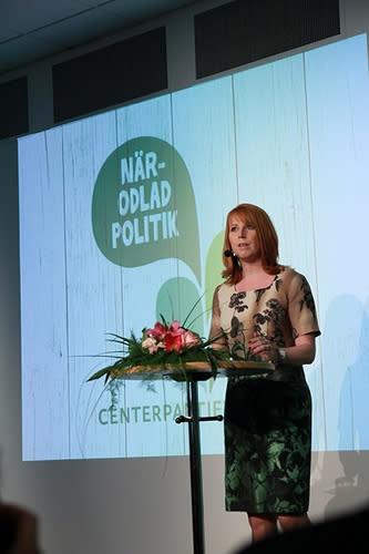 Annie Lööf besöker Halmstad och Lund, presenterar ny EU-rapport