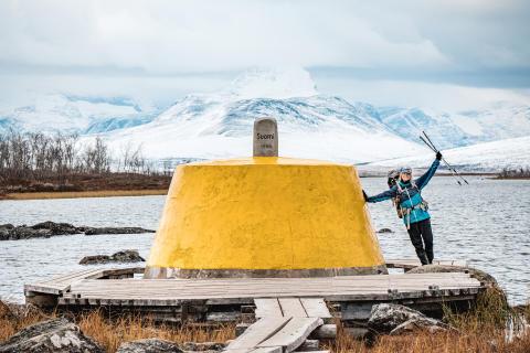 Linda har tagit sig 485 mil genom sveriges alla landskap - till fots, på cykel och med kajak!