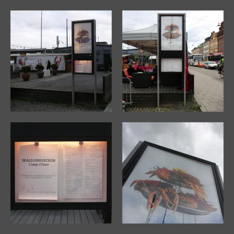 Byggskylt till Pontus Pocket i Solna Business Park