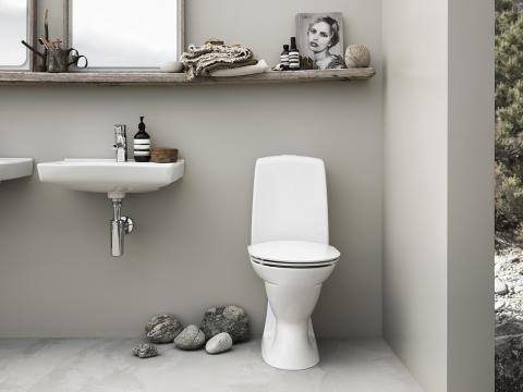 Stilrent toilet bekæmper snavs og skidt
