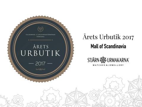 Årets Urbutik 2017 - Stjärnurmakarna Mall of Scandinavia