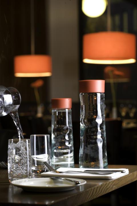 Vattenförbrukningen på Scandics hotell minskar