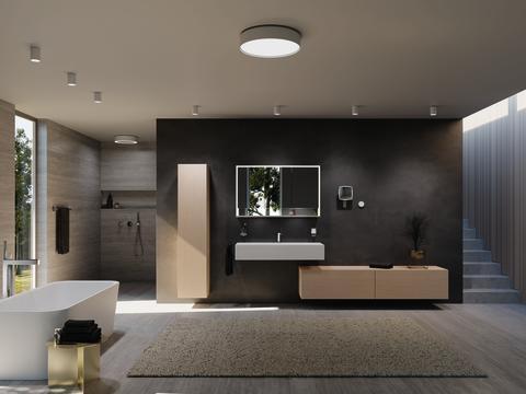 Trend No. 10: Greige - Lighting concept Royal Midas from KEUCO