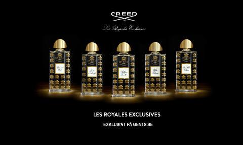 Nu kommer Creed Les Royales Exclusives till Sverige