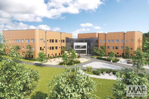 Ny skola och idrottshall blir ett av Skellefteå kommuns hittills största projekt