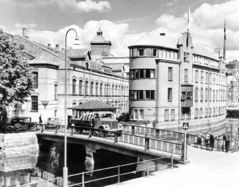 Bild från förr, Viskaholm,  Borås