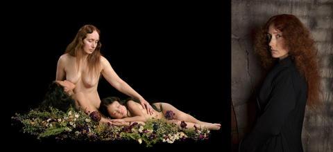 Pressvisning av utställningen Through the Eyes of Nathalia Edenmont – Helsingborgs museers samling