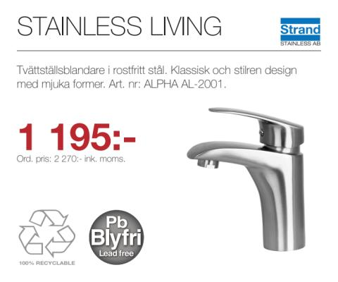 Kampanj - Stainless Living AL-2001