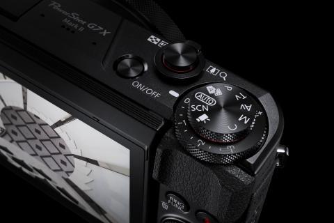 PowerShot G7X MkII Gallery Mode Dial BK Beauty