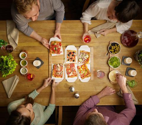 Geschirr für internationale Lieblingsgerichte neu interpretiert – Mit Pizza Passion und Pasta Passion perfekt serviert