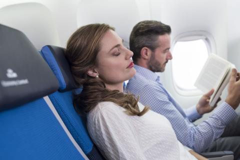 Unngå stress på flyreisen