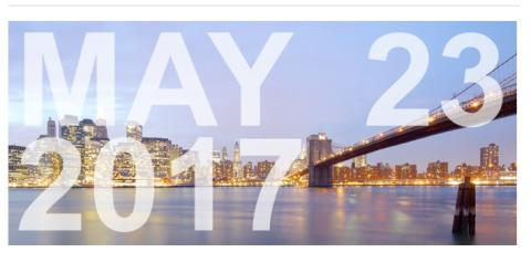 Seafood Investor Forum - NYC, May 23, 2017