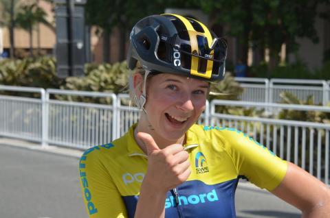 Clara Lundmarks kom 43:a på Junior-VM i Doha