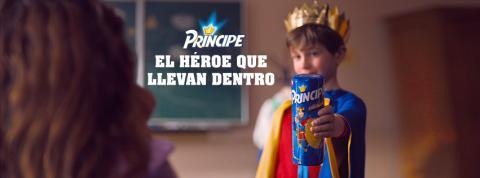 Príncipe lanza su nueva campaña de comunicación  bajo el claim 'Príncipe, el héroe que llevan dentro'