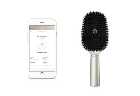 Kérastase Hair Coach Smartbrush Powered by Withings