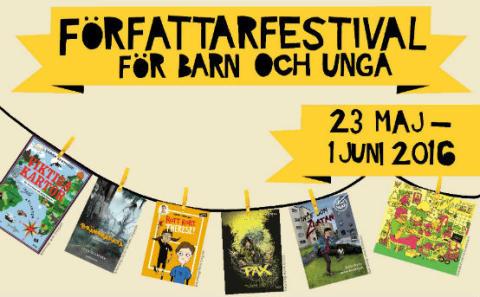 Författarfestival för Malmös barn och unga