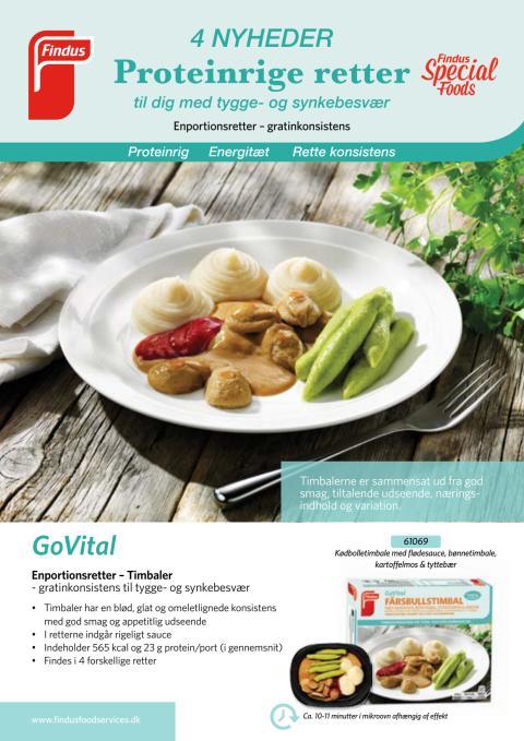 GoVital Produktblad Konsistenstilpasset