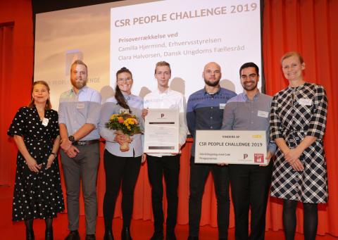 Erhversakademi Aarhus har vundet CSR People Challenge 2019