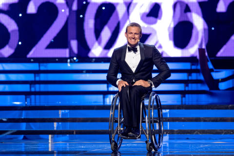 Aron Andersson delade ut priset Årets Peppare under Idrottsgalan den 15 januari 2018 i Stockholm.