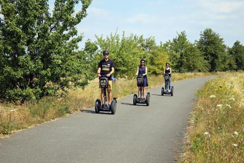 Segway-Tour mit Stadtstromer entlang des Werbeliner Sees