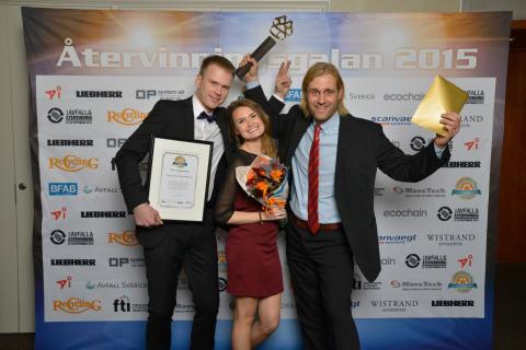 Renhållningen är Årets Avfallsbehandlare 2015!