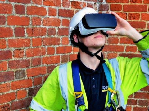 Openreach embraces virtual reality  to hire 1,500 trainee engineers